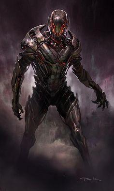 Avengers Age of Ultron Andy Park Concept Art 4 Avengers: Age of Ultron Concept Art Reveals Alternate Ultron Designs