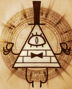 how to draw bill cipher from gravity falls
