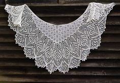 Hortense Beaded Lace Shawl, knitting pattern by Anna Victoria for sale on Ravelry by tricia