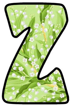 Alphabet And Numbers, Lily Of The Valley, Floor Chair, Bubbles, Monogram, Board, Flowers, Home Decor, Lyrics