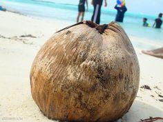 Beach life on Maadhoo island, Maldives