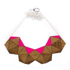Timber Platonic Necklace