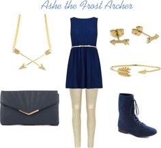 """League of Legends - Ashe"" by allstaroceans on Polyvore"