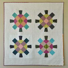 cog + wheel {a finished quilt}