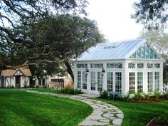 16 Gorgeous Greenhouses --> http://www.hgtvgardens.com/hardscaping/16-gorgeous-greenhouses-let-the-sunshine-in?soc=pinterest