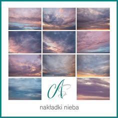Ilość nakładek nieba w zestawie: 11 Format: JPG Rozdzielczość: px, 300 DPI Cloud Photos, Photoshop Overlays, Digital Backdrops, Sunset Sky, Clouds, Celestial, Photography, Outdoor, Outdoors
