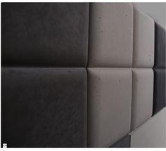 Panele 3D Pillow - zdjęcie od Bettoni - Beton Architektoniczny - Sypialnia - Styl Nowoczesny - Bettoni - Beton Architektoniczny