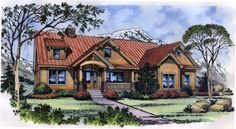 House Plan 63266 | Craftsman Plan with 2326 Sq. Ft., 3 Bedrooms, 3 Bathrooms, 2 Car Garage at family home plans