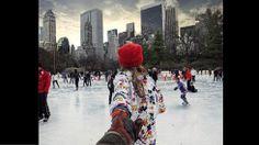 FOLLOW TO ME. Central Park, Nueva York (instagram.com/muradosmann).