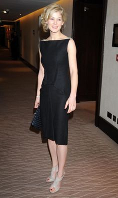 Rosamund Pike Photos: Costa Book Of The Year Awards