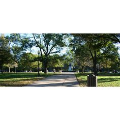 12 Inspiring Public Parks Gardens in Washington, DC ❤ liked on Polyvore featuring home and outdoors