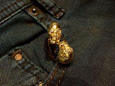 Skull Ring MESJONES gold 18 kt diamond - Dogale Jewellery Venice Italia