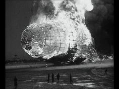 Hindenburg Disaster Real Footage (1937) [HD]  This original footage from the British Pathe archive shows impressive shots of the Hindenburg flying overhead, flying over its landing ground at Lakehurst, New Jersey, and then finally there is footage of the famous crash.    13 out of 36 passengers died, whilst 22 out of 61 crew members died, so many survived the disaster.
