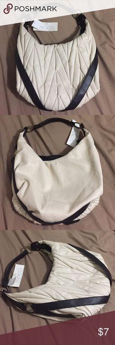 NWT Minicci Purse Bone Beige Brand new Minicci Purse Minicci Bags Shoulder Bags