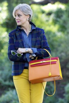 power of plaid | Style at a certain age