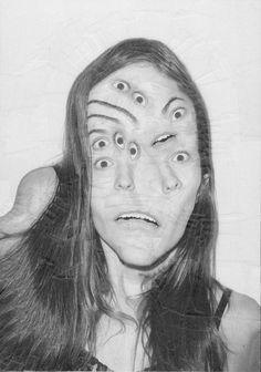 Lola Dupré's Collage Portraits