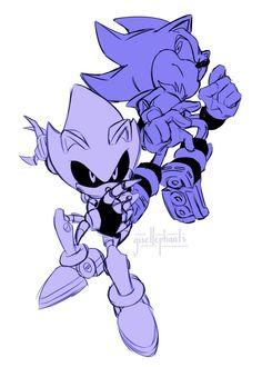Metal Sonic & Shadow