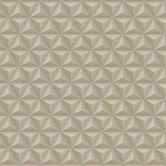 Papel De Parede Coleção Diplomata Geométrico 3D Bege 3130