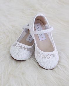 205 best kailee p shoes flower girl shoes images on pinterest in girls white crochet lace maryjane flats mightylinksfo