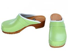 Clogs mint green by berlin27clogs on Etsy, $49.00