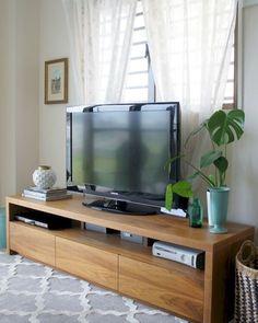 Tv Stand Decor Beautiful Farmhouse TV Stand Design Ideas And Decor . Tv Stand Decor, Diy Tv Stand, Tv Decor, Home Decor, Decor Room, Bedroom Decor, Cheap Tv Stand, Simple Tv Stand, Tv Stand Makeover