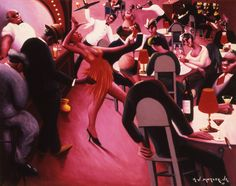 "Archibald Motley ""Saturday Night"" 1935"