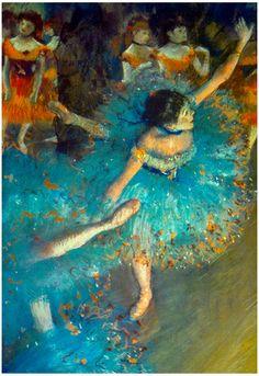 Edgar Degas Dancer Art Print Poster Poster at AllPosters.com