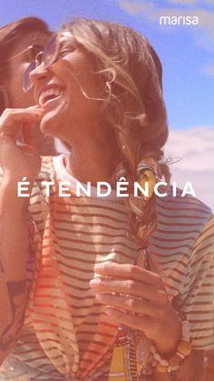 Nova Coleção Marisa Moda Do Momento, Neon, Moda Online, Videos, Movies, Movie Posters, New Trends, Editing Photos, Instagram Ideas