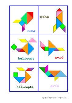 Aprendemos con el tangram | laclasedeptdemontse Safe Internet, Arabic Alphabet For Kids, Card Games For Kids, Scissor Skills, Math Classroom, Baby Play, Pattern Blocks, Crafts For Kids, Preschool