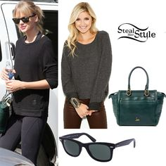 Taylor Swift at Ballet Bodies October 26th 2013 - Taylor Swift Style Steal