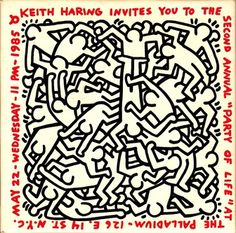 1000 images about keith hering on pinterest keith - Keith haring shower curtain ...