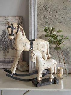 ♥wooden rocking horses♥