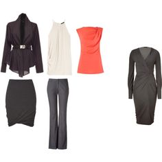 """""""BSpr Kibbe SD Core Wardrobe Pieces"""" by a2jc4life on Polyvore"""