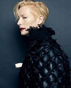 Tilda Swinton by Hong Jang Hyun for Vogue Korea August 2015 - CHANEL Fall 2015