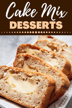 Looking for the best cake mix desserts? From cookies to brownies to cinnamon rolls, these recipes are so easy, thanks to boxed cake mix. Cake Mix Desserts, Cake Mix Recipes, Cupcake Recipes, Fun Desserts, Delicious Desserts, Dessert Recipes, Fun Recipes, Dessert Ideas, Cake Mix Brownies