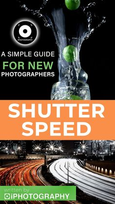 Slow time and suspend animation with this simple overview of shutter speed. Find out what you've been forgetting. Best Photography Blogs, Photography Cheat Sheets, Framing Photography, Speed Writing, Suspended Animation, Motion Blur, Free Tips, Shutter Speed, School Days