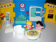 fisher price little people eddies trip to the doctor 1999