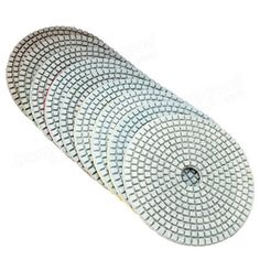 Only US$3.99 buy best 5 inch 50-6000 grit diamond polishing pad wet dry sanding disc for marble concrete granite glass sale online store at wholesale price. US/EU direct. - Banggood Mobile