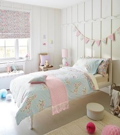 "Gorgeous, kids Little Sanderson ""Pretty Ponies"" Bedding. Girls Horse Bedding - Absolutely ideal for any little girl who loves her horse!"