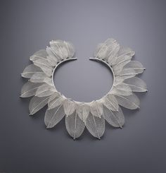 Leaves/ necklace Sowon joo