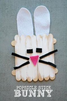 Kids-Popsicle-Stick-Bunny-Craft-Darice-1