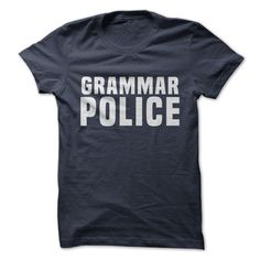 Grammar Police - looks like it might run small, get a larger size