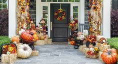 Fall Decor Porch