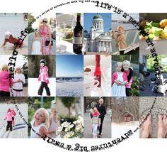 Vaaleanpunainen hirsitalo, pics from 2012