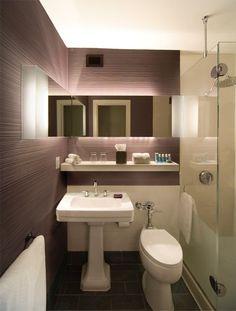 Stunning Pedestal Sink Bathroom Design Ideas Modern Small Bathroom Designs Awesome Modern Bathroom Design Clean for [keyword Small Bathroom Interior, Small Bathroom Layout, Modern Bathroom Design, Bathroom Designs, Bathroom Ideas, Condo Interior, Bath Design, Interior Ideas, Interior Decorating