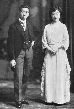 The 124th emperor of Japan, Hirohito (also known as Emperor Showa) married his distant cousin Princess Nagako Kuni on January 26, 1924.