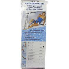 DUSCHFOLIEN Bein kurz 90 cm:   Packungsinhalt: 5 St PZN: 07274580 Hersteller: ALLERGIKA Pharma GmbH Preis: 13,74 EUR inkl. 19 % MwSt.…