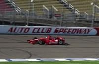Franchitti testing Thursday at Auto Club Speedway #INDYCAR
