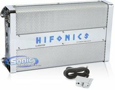"Hifonics GLX1400.1D Gladiator 1 x 1400 Watts and 1 Ohm Amplifier by Hifonics. Save 64 Off!. $174.95. The ""Power from the Gods"" legend began with the first Hifonics amplifier built over 25 years ago. Hifonics was Number One in developing: 1st - 200 watt automobile amplifier 1st - 600 watt automobile amplifier 1st - True automobile parametric equalizer 1st - 4-channel amplifier with built-in crossover 1st - 6-channel amplifier with built-in 3-way crossover Today's lineup of Hifonics A/B amps…"