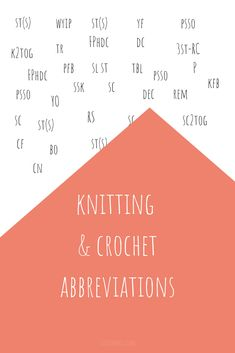 #knitting and #croch